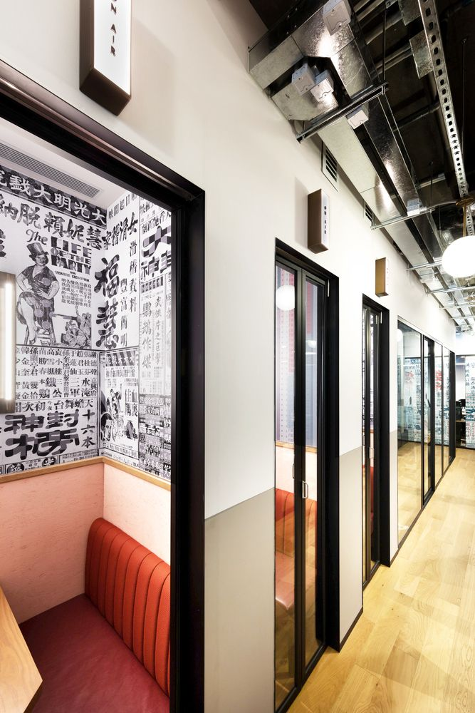 Gallery of WeWork Tower 535 / NCDA - 19 Tower, Booth seating and