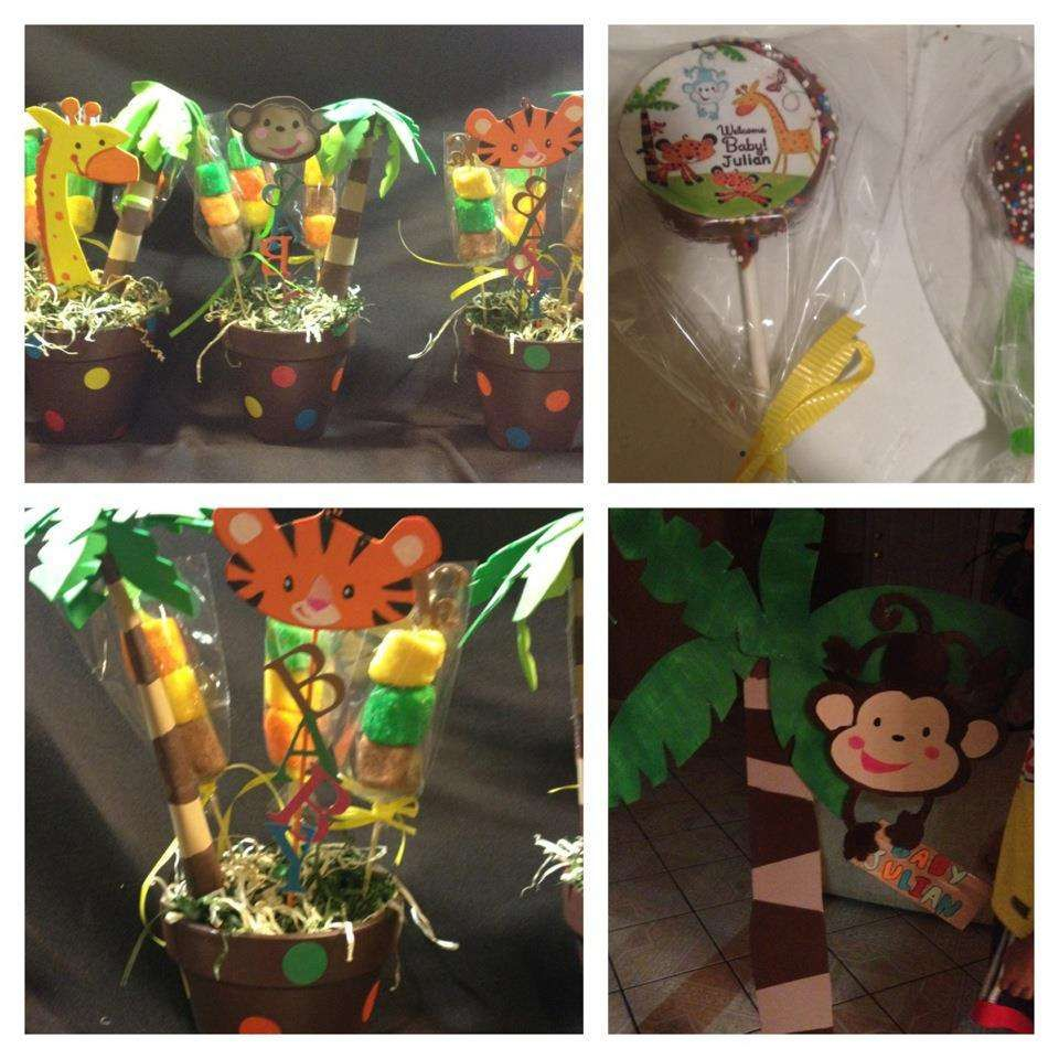 Awesome Fisher Price Jungle Theme Baby Shower Part - 9: Animal Of Rainforest Fisher Price Baby Shower Party Ideas