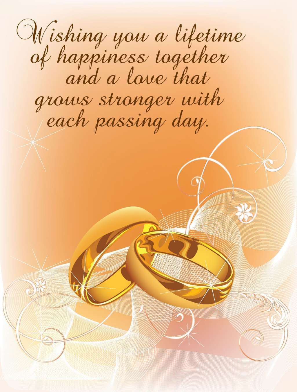 engagement card message for brother