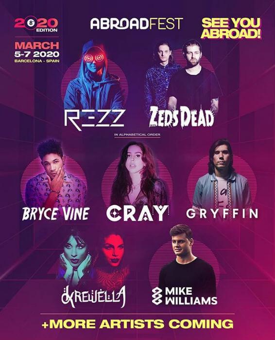 Abroadfest 2020 Electronics Festival European Festivals Festival