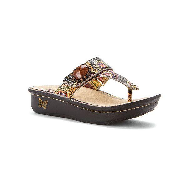 Alegria Carina Flip Flops ($99) ❤ liked on Polyvore