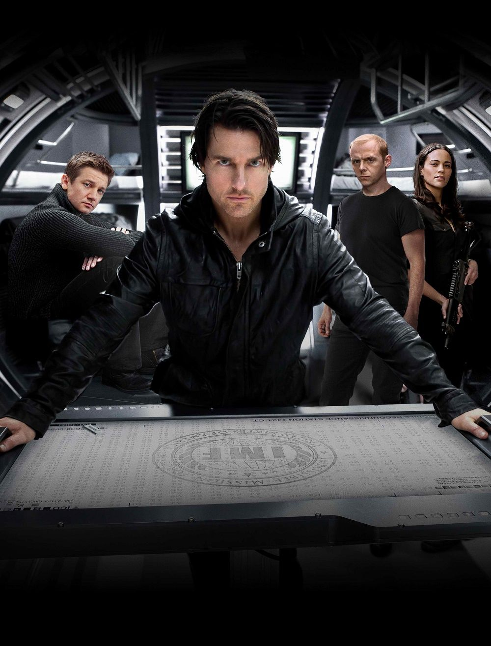 Mission Impossible Ghost Protocol Promotion Pic Tom Cruise Tom Cruise Mission Impossible Simon Pegg