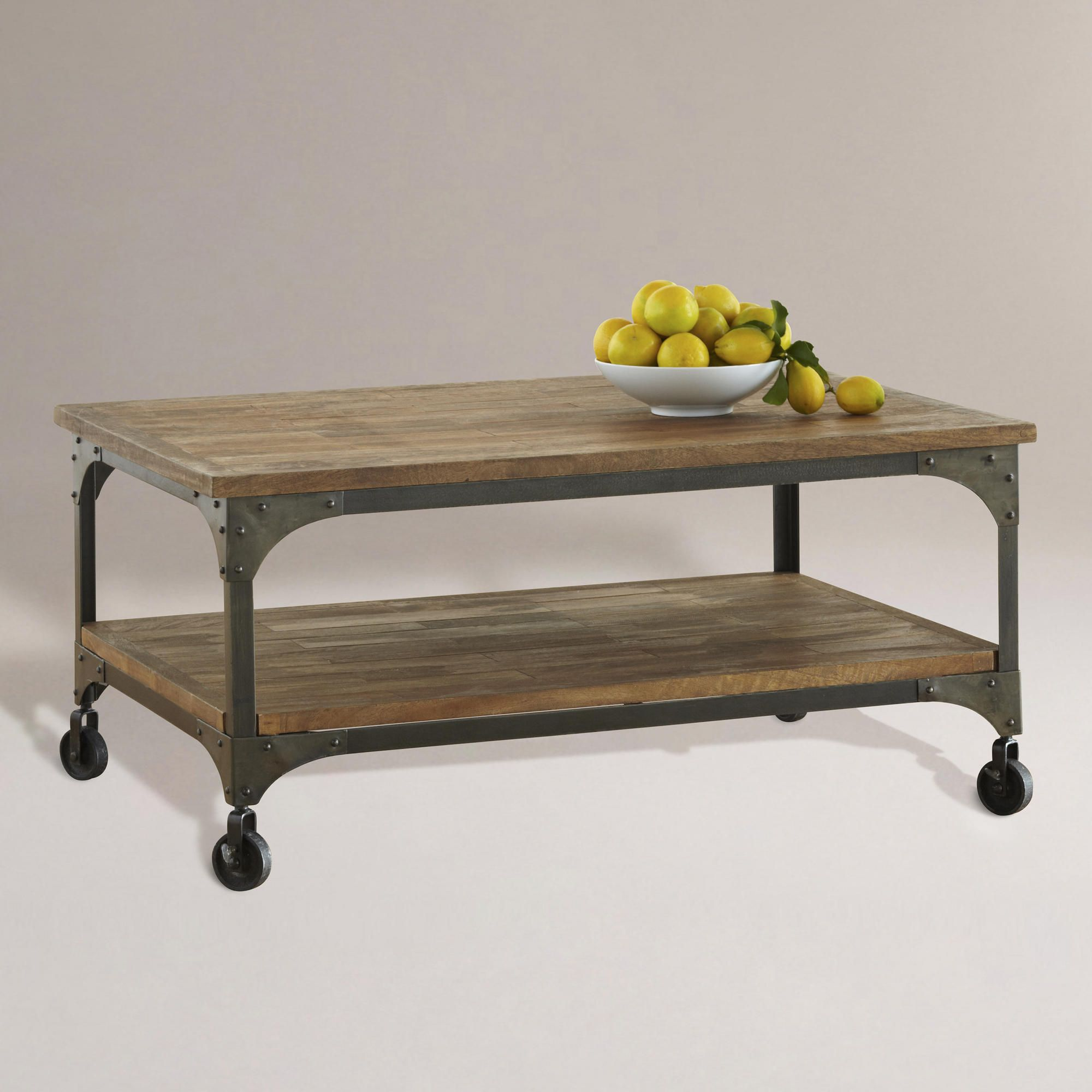 aiden coffee table | industrial, furniture and world