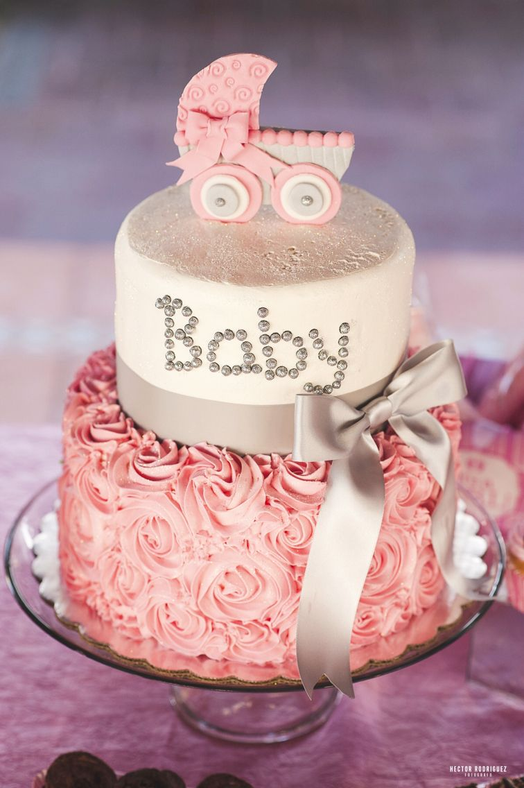 Exceptional Pastel Baby Shower Niña