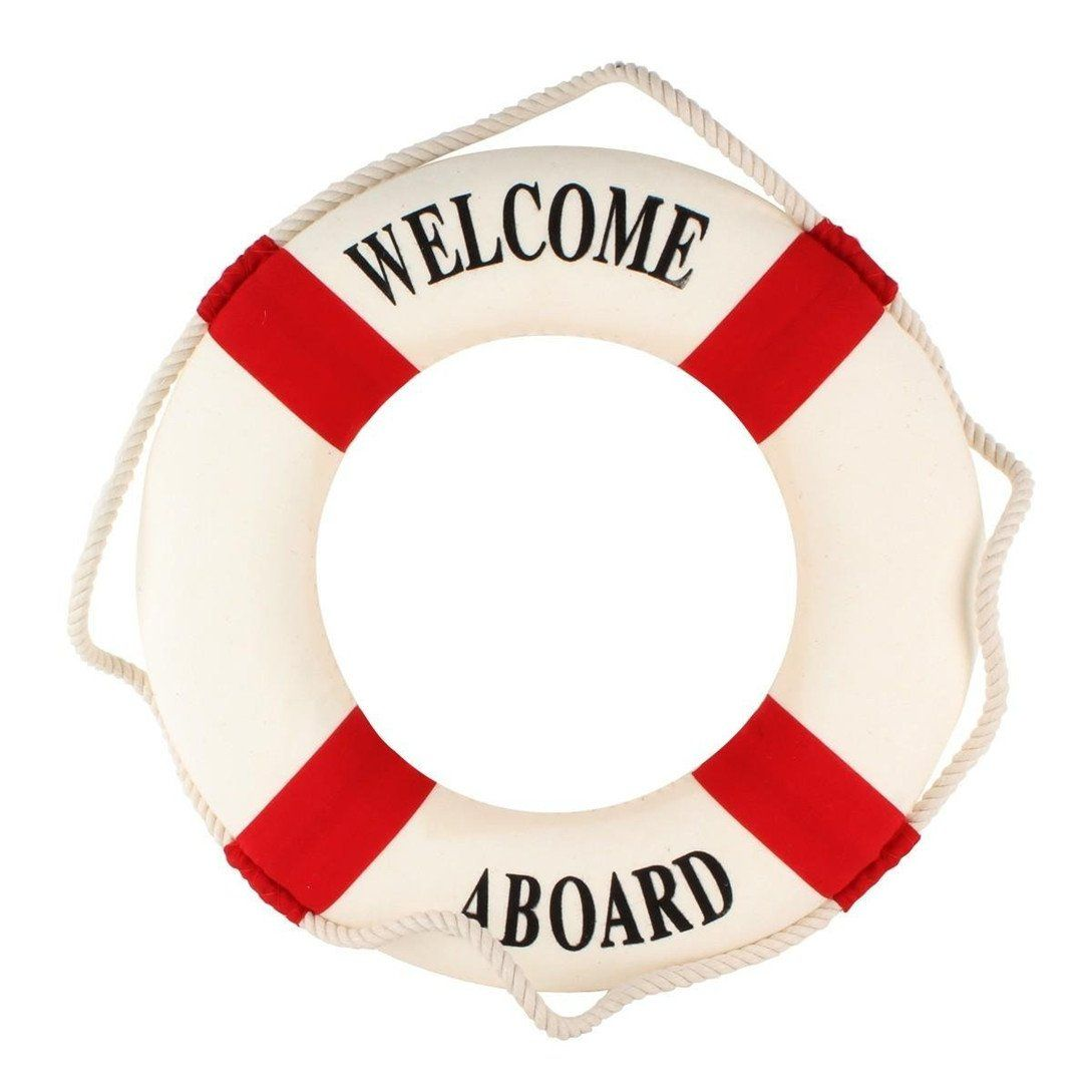 Babybq Lifebuoy Decoration Nautical Wall Hanging Ornament Tool For Home Bar Office Awesome Products Selected Nautical Wall Hanging Boat Wall Nautical Decor