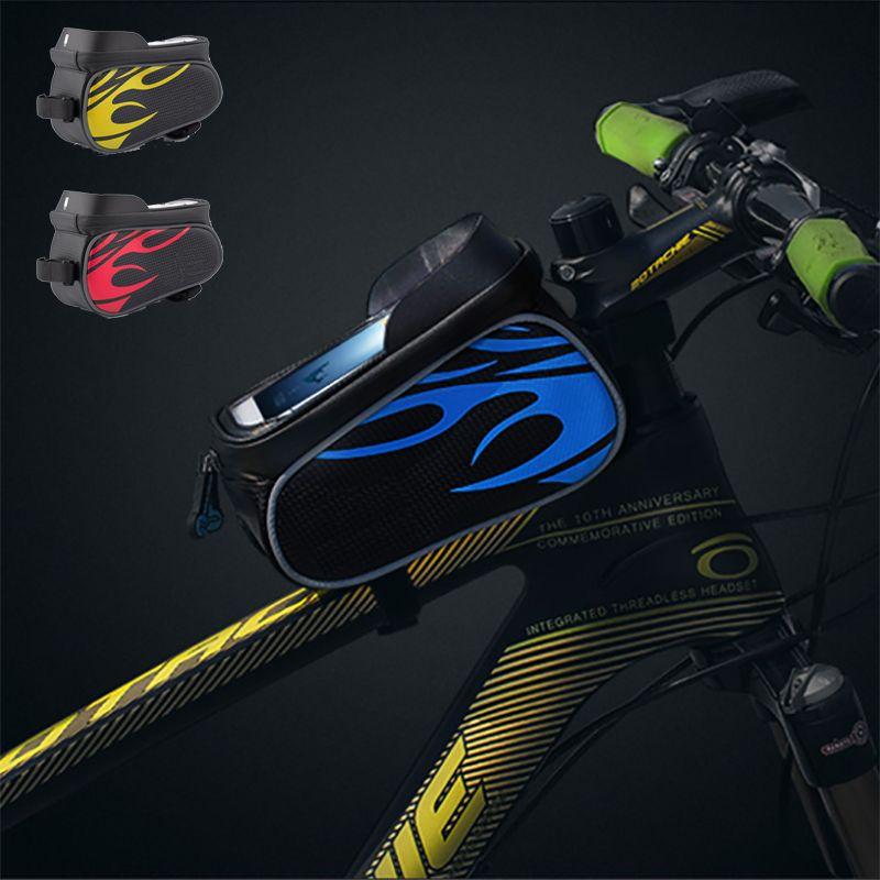 Waterproof Top Tube Saddle Bag Bicycle Bags Panniers Cycle Carrier