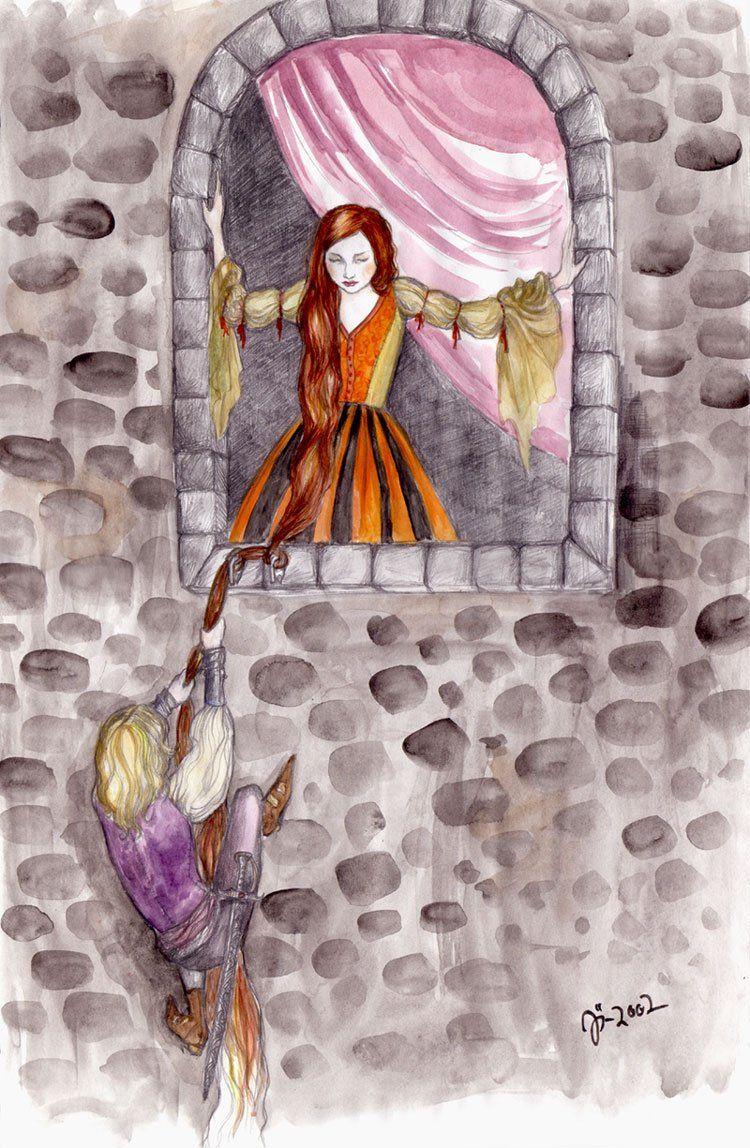 """""""Rapunzel"""" Johanna Ost"""