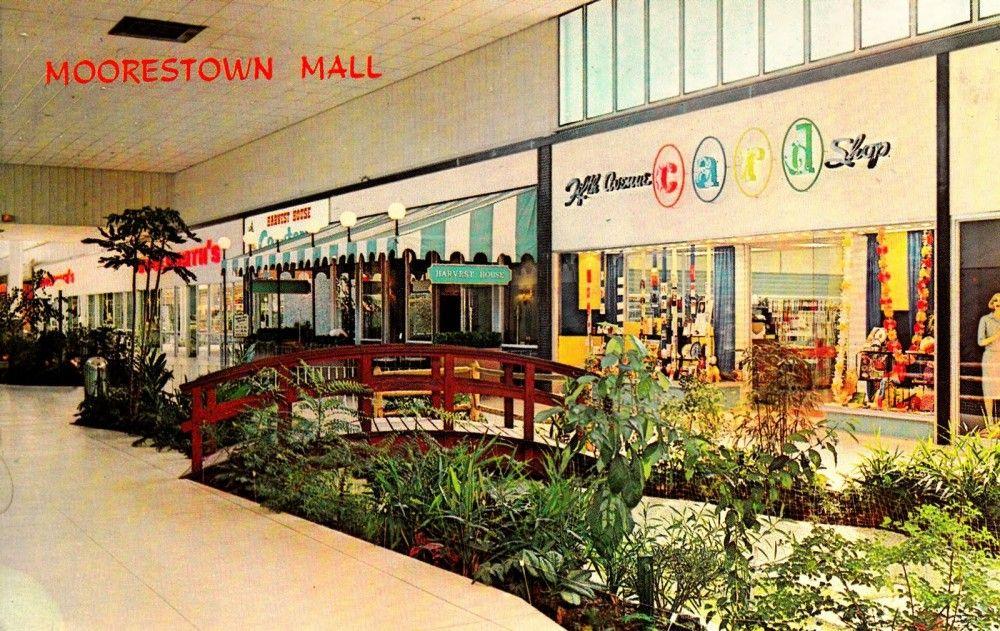 Moorestown Mall New Jersey Circa 1961