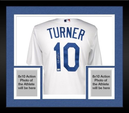 huge discount 490f9 91195 Autographed Justin Turner Dodgers Jersey Fanatics Authentic ...