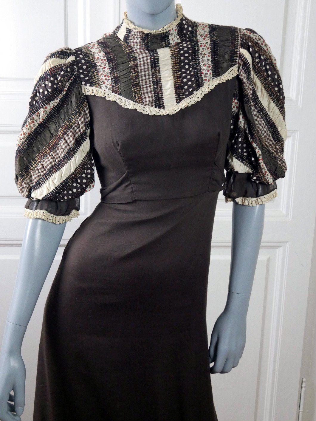 7fdd840e03d 1970s Prairie Dress