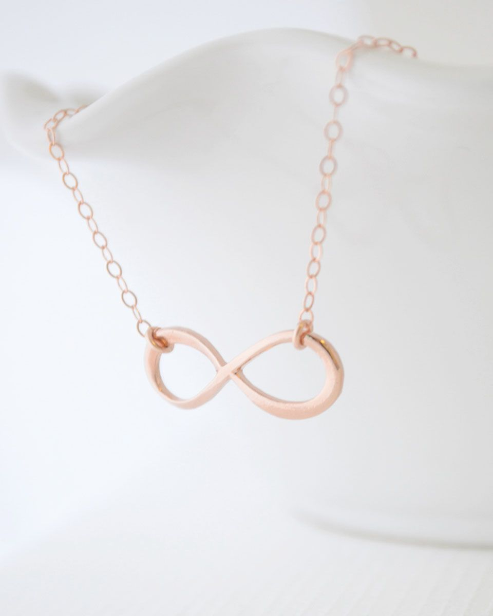 Rose gold infinity bracelet sleek and bold the infinity symbol rose gold infinity bracelet sleek and bold the infinity symbol signifies balance the biocorpaavc