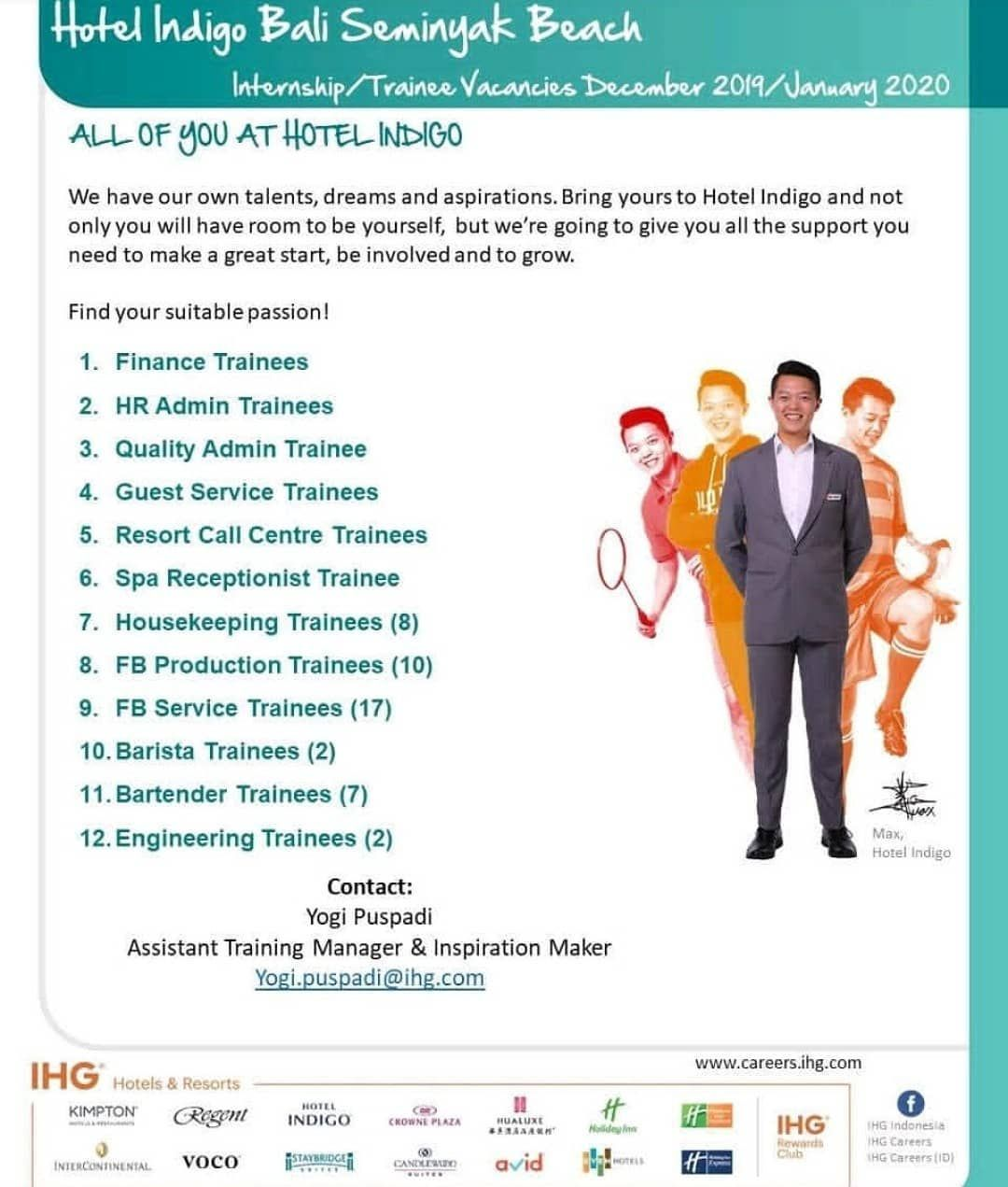 Please Carefully To Read The Requirement Sharing Is Caring Share To Your Friends Follow Job Hotelindonesia For Any I Bali Beaches Job Fair Job Seeker