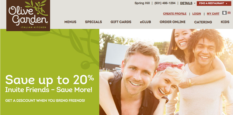 Olive Garden Specials and Coupons Olive garden coupons