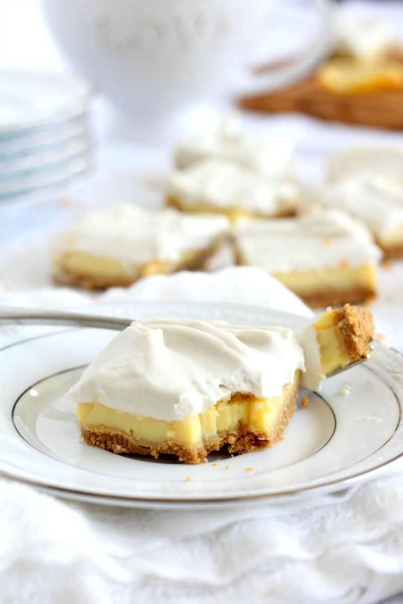 Paleo Lemon Bars With Coconut Whipped Cream Muffins
