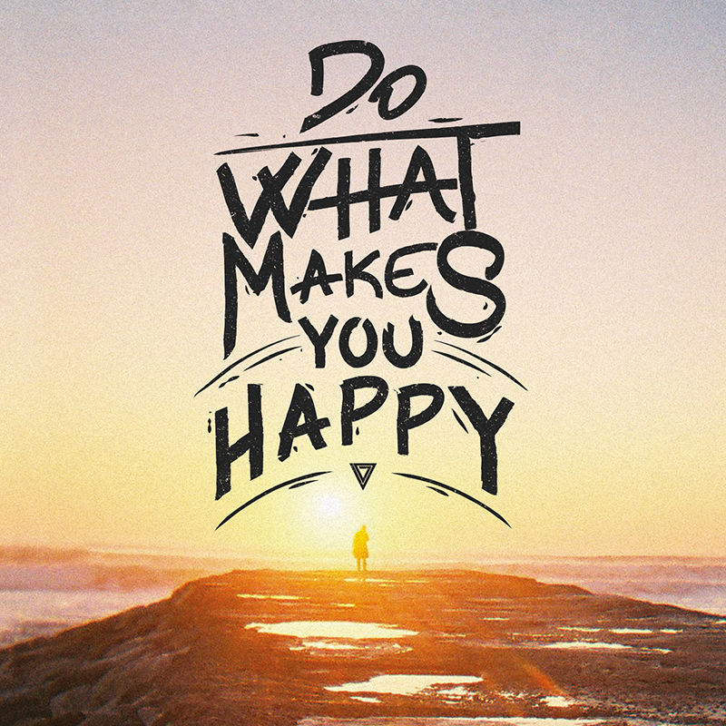 """www.facebook.com/voiddesigns www.voiddesigns.pt #FridayQuotes#213062014 - """"Do what makes you happy"""""""