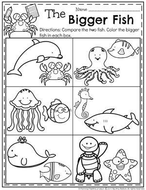 Summer Preschool Worksheets | Learning | Pinterest | Kind
