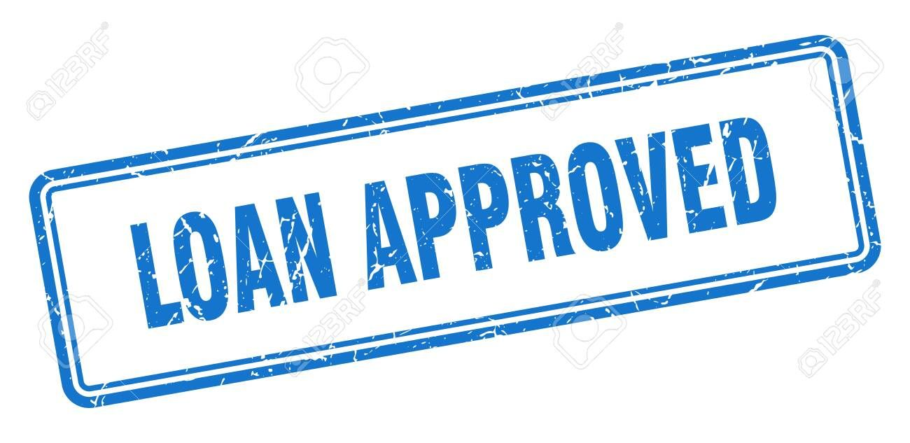 Loan Approved Stamp Loan Approved Square Grunge Sign Loan Approved Sponsored Stamp Approved Loan Sign Grunge