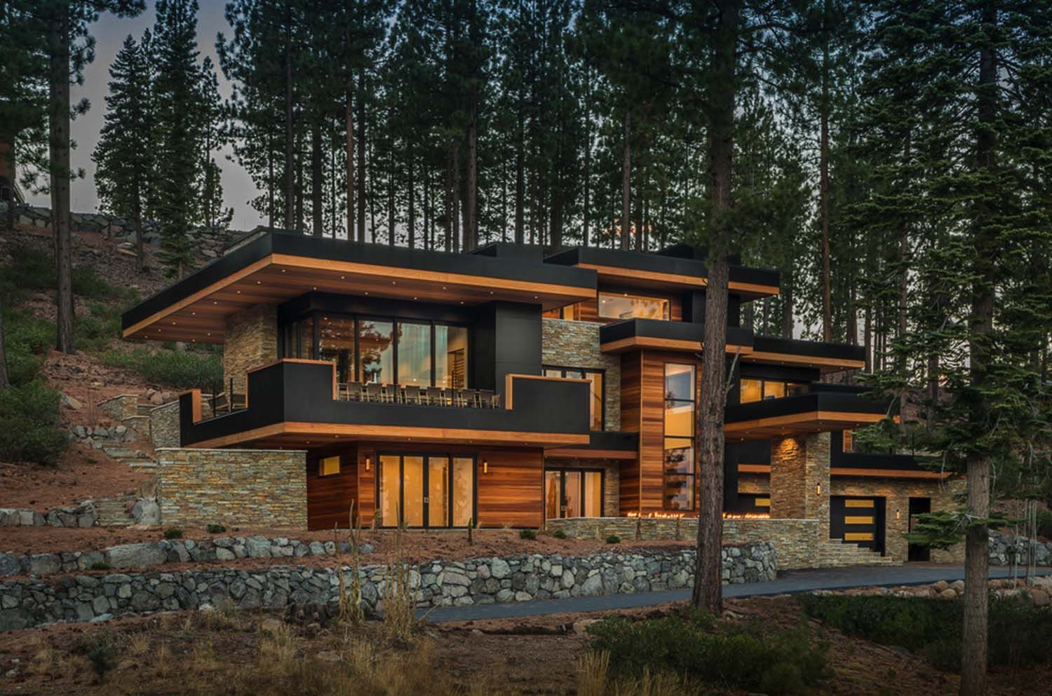 fabulous mountain dwelling with jaw dropping views of on modern cozy mountain home design ideas id=20952