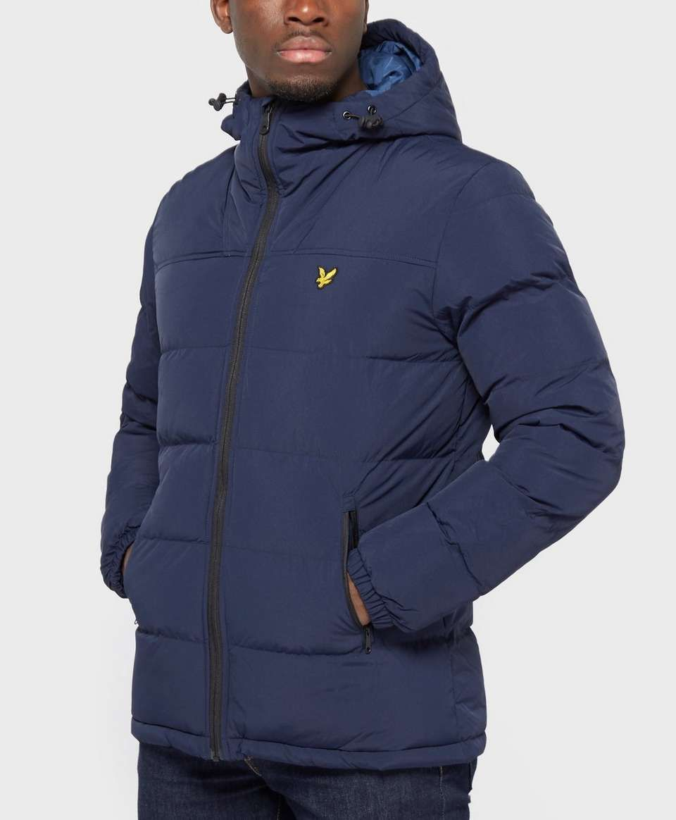 3e6e4dae9977 Lyle & Scott Wadded Padded Jacket | Winter jacket | Jackets, Lyle ...