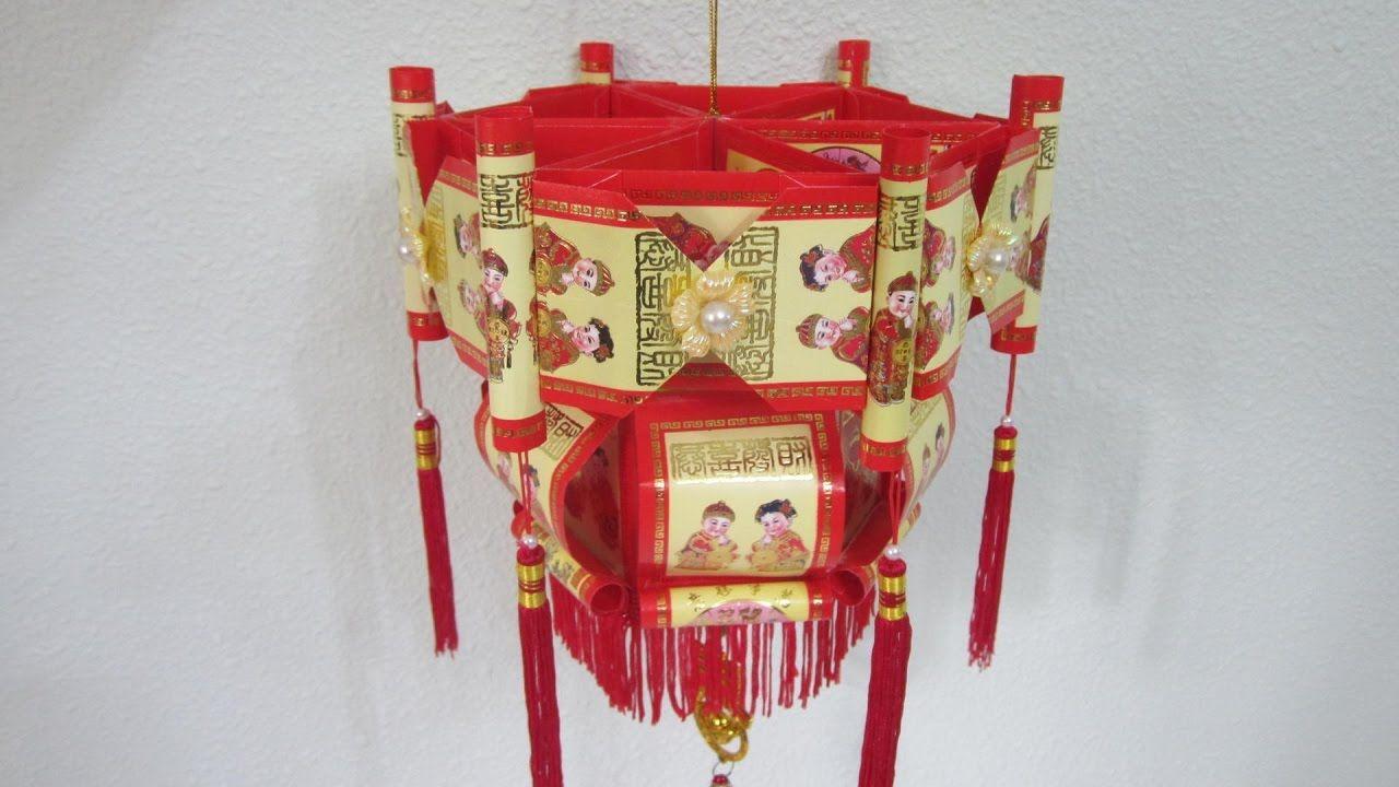 CNY TUTORIAL NO. 51 Traditional Hongbao Lantern 1