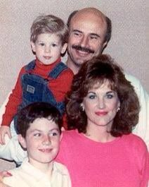 Young Dr Phil & family