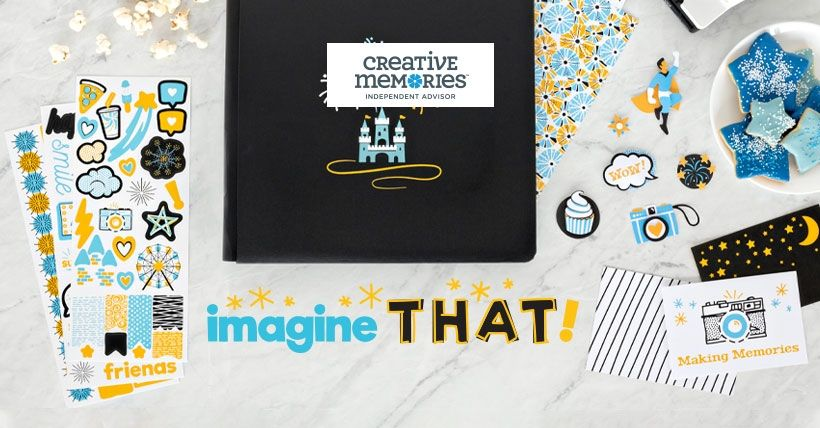 Creative Memories Embellishments and Templates