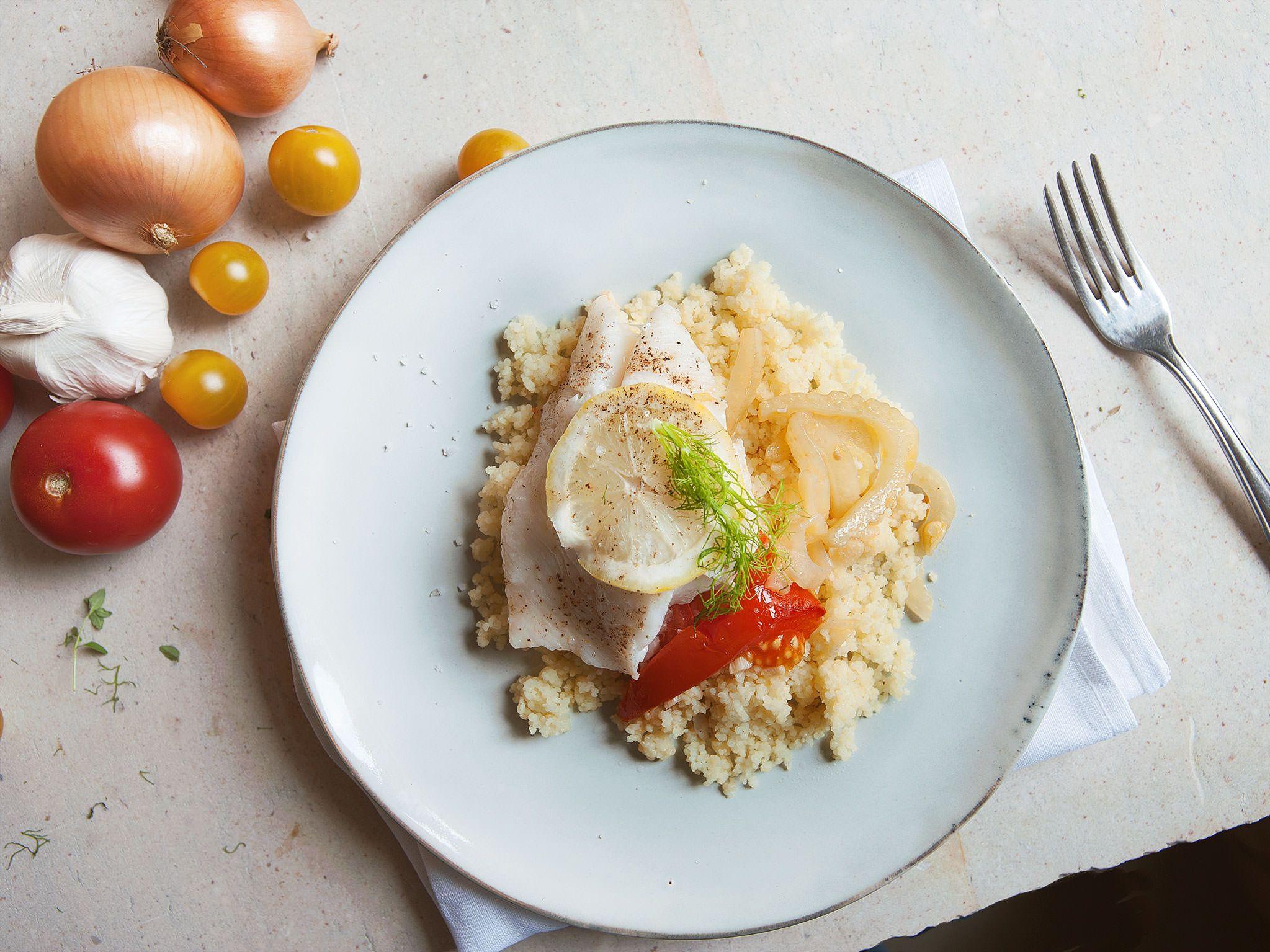 Geschmackvollen Fisch zuzubereiten war nie leichter und schneller. Mit Steinbutt ebenso lecker.
