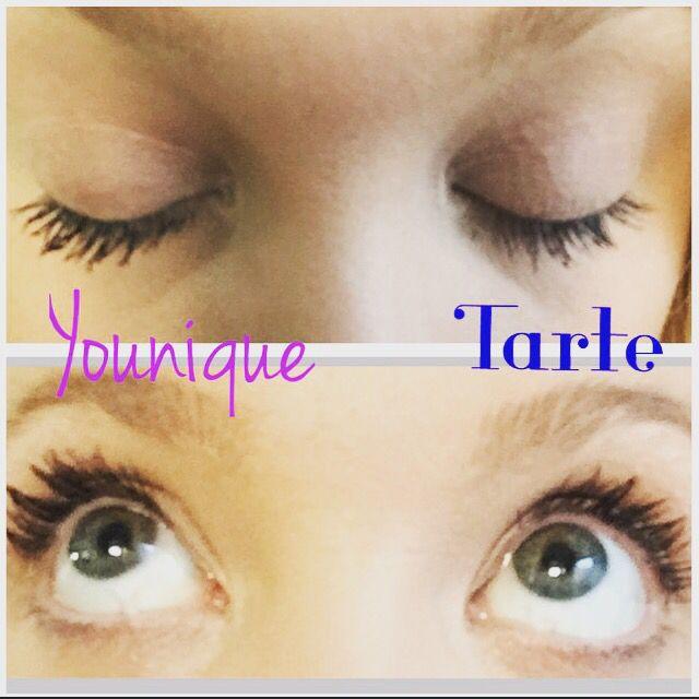 d8bcfac34e4 Younique's 3D Fiber Lash Mascara vs. Tarte's Lights Camera Lashes! #younique  #mascara #makeup #tarte #makeuptrend #cosmetics #youniquemakeup #fiberlashes