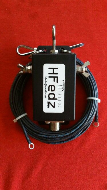 NEW!!! HFedz Delta Loop 10m & 6m HF Antenna. Now aviable for the 17m band and more bands to come!