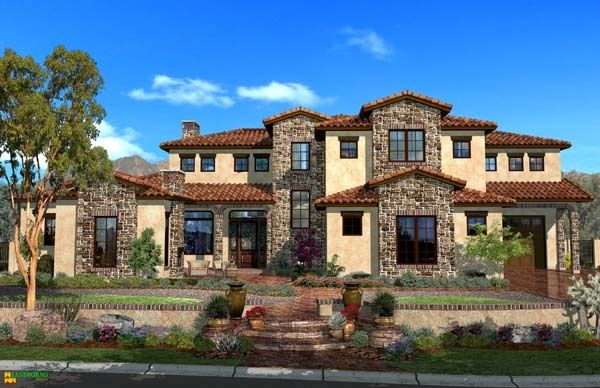 Tuscan_reflections floor plan 3808 sq ft | For the Home ...