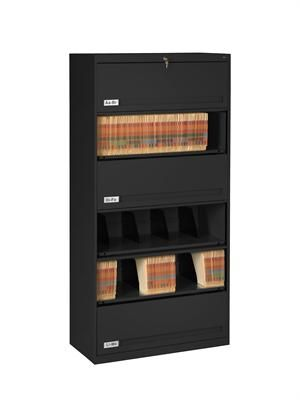 Lockable Medical File Cabinets With Retractable Doors 6