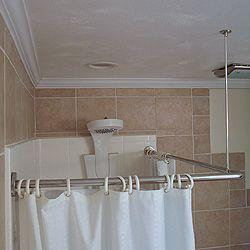 Corner Shower Curtain Rod Kit Corner Shower Corner Shower
