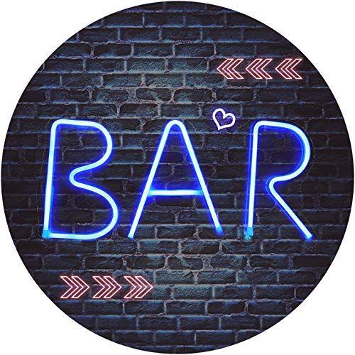 BAR - Illuminated Neon Bar Sign - Lighted LED Neon Marque