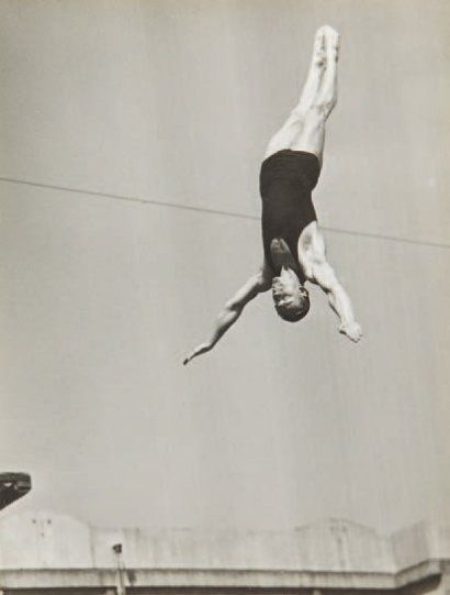 Le Saut I The Dive 1934 By Andre Steiner Welt