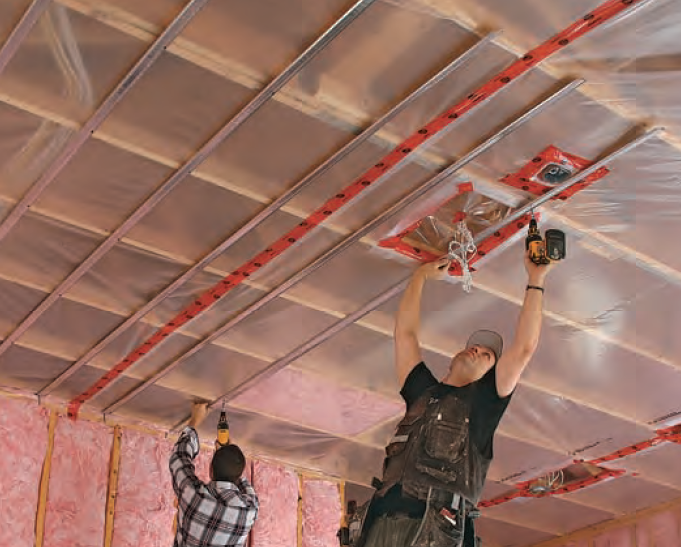 New School Drywall Materials Blown In Insulation Drywall Home Building Tips