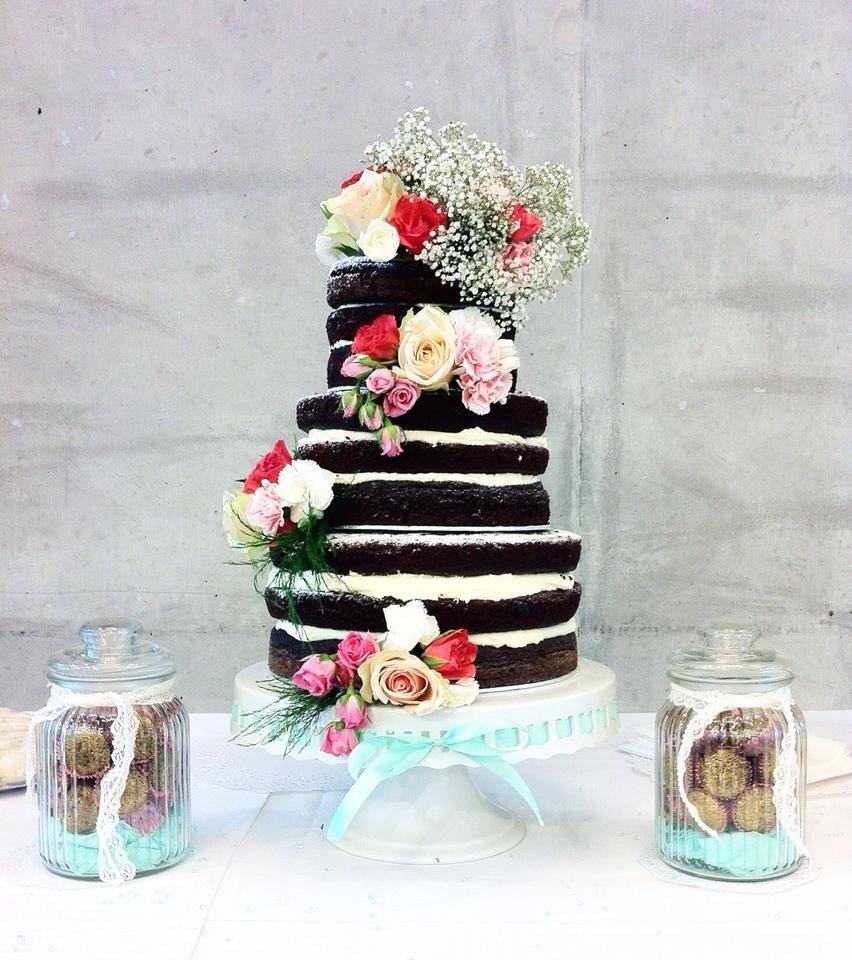 Naked cake, chocolate cake | My cakes*** | Pinterest | Cake ...