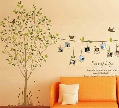 Diy Removable Wall Decal Wallpaper Mural Fresco Tv Background Wall Poster Sticker Frame T With Images Wall Stickers Home Decor Wall Stickers Home Vinyl Tree Wall Decal
