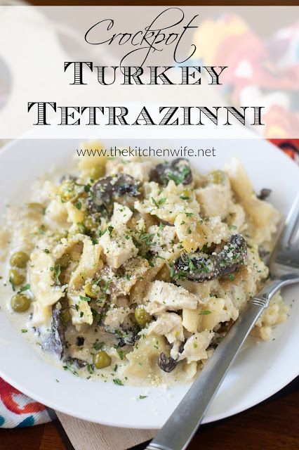 Photo of Crockpot Turkey Tetrazinni Recipe