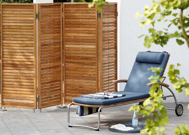 sichtschutz f r den balkon florales duo orangerie von garpa garten balkon garten und. Black Bedroom Furniture Sets. Home Design Ideas