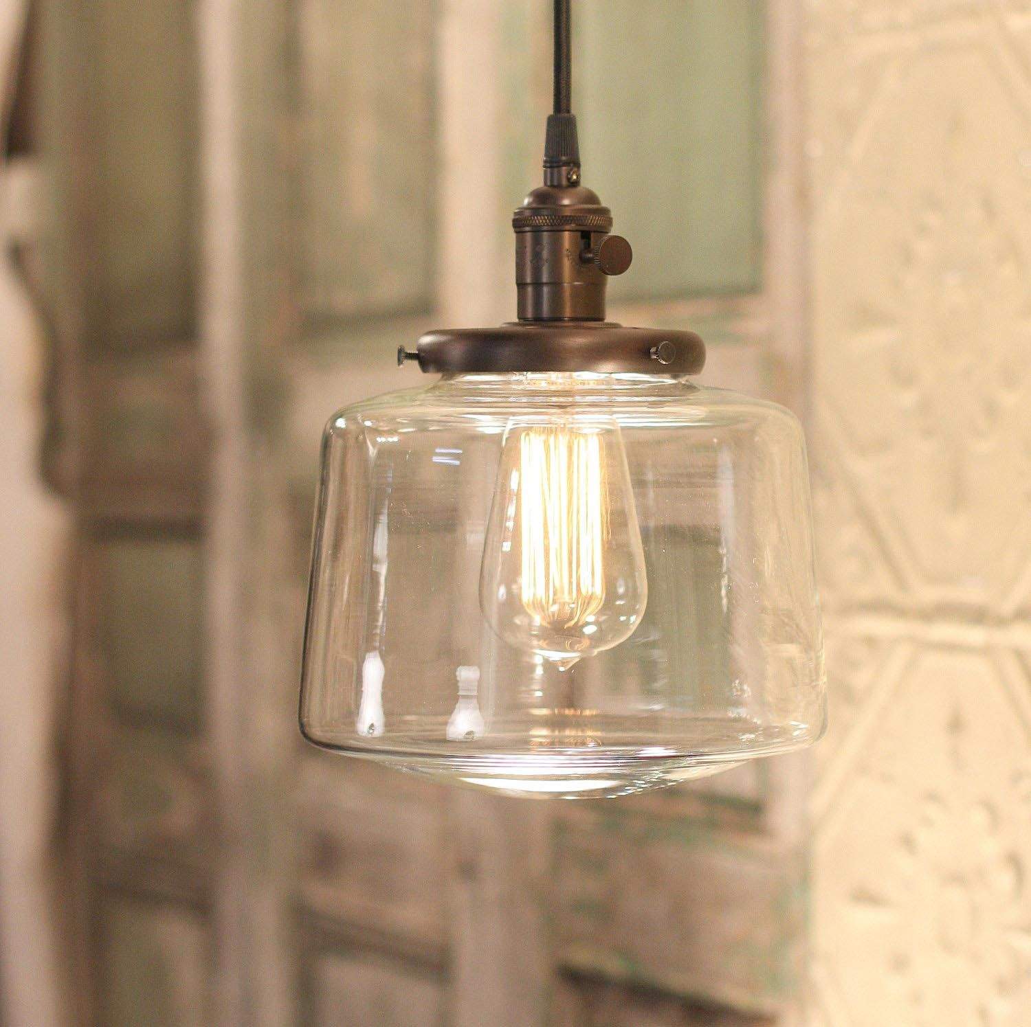 Clear Glass Chandelier Replacement Globes