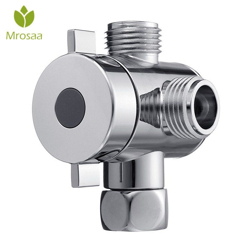 Multifunction 3 Way Shower Head Diverter Valve G1 2 Three Function