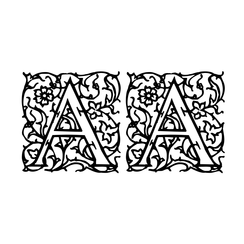fairy tale font | arabesque-initialen.regular.png | wedding ...
