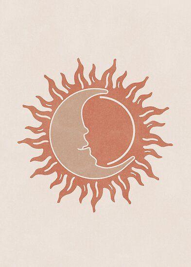 Sun & Moon Poster by millamix