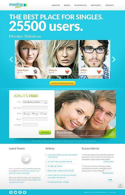 Dating Website Template