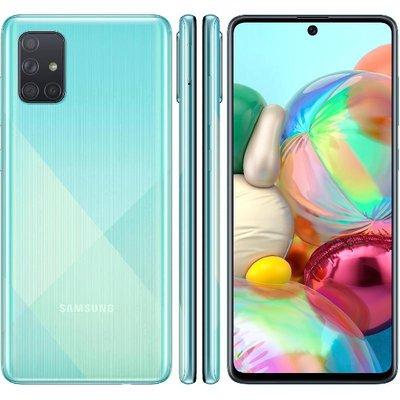 Samsung Galaxy A71128 Gb Prism Crush Blue 4g Lte Samsung Galaxy Galaxy Samsung