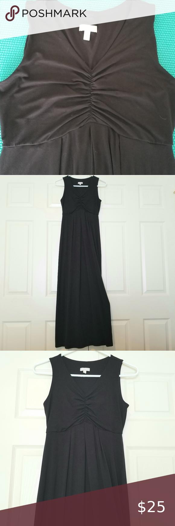 Talbots Maxi Dress Nwot Simple Black Maxi Dress Maxi Knit Dress Blue Floral Maxi Dress [ 1740 x 580 Pixel ]
