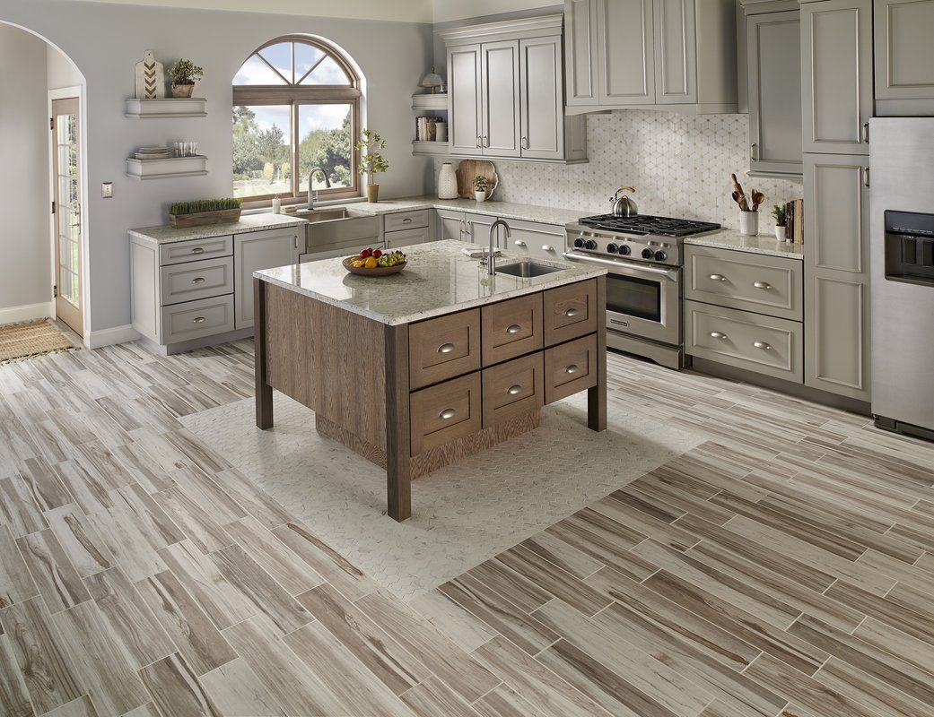 "Carolina 5"" x 5"" Ceramic Field Tile  Kitchen floor tile, Kitchen"