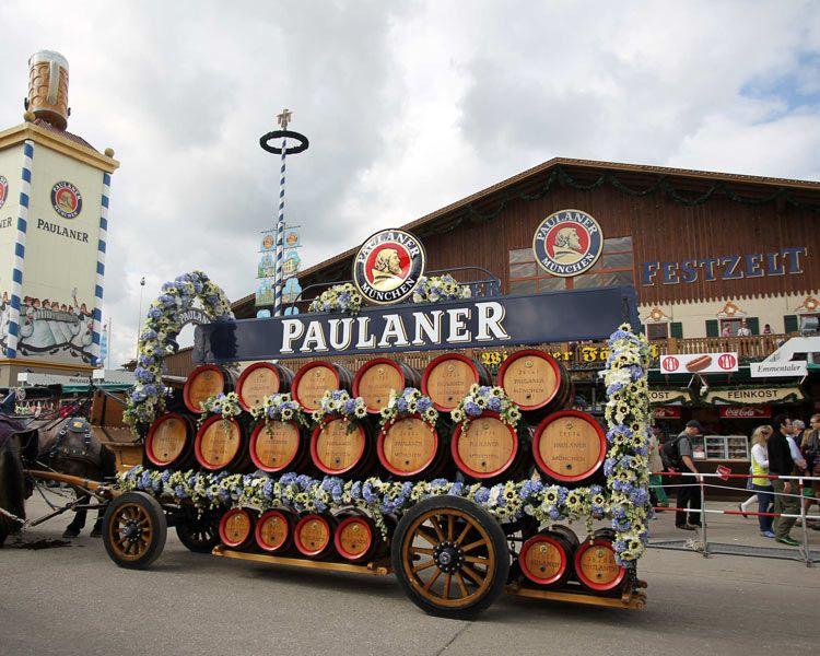 Paulaner Brauerei Munchen Brauerei Oktoberfest Munchner Oktoberfest
