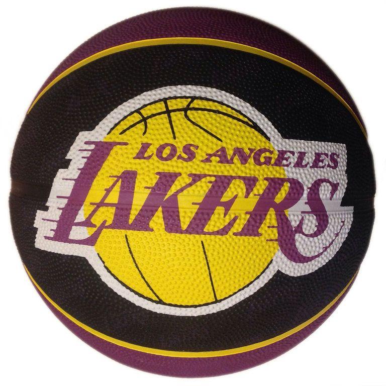 Talla Lakers Color Spalding Basketball Team L.A Pelota de Baloncesto