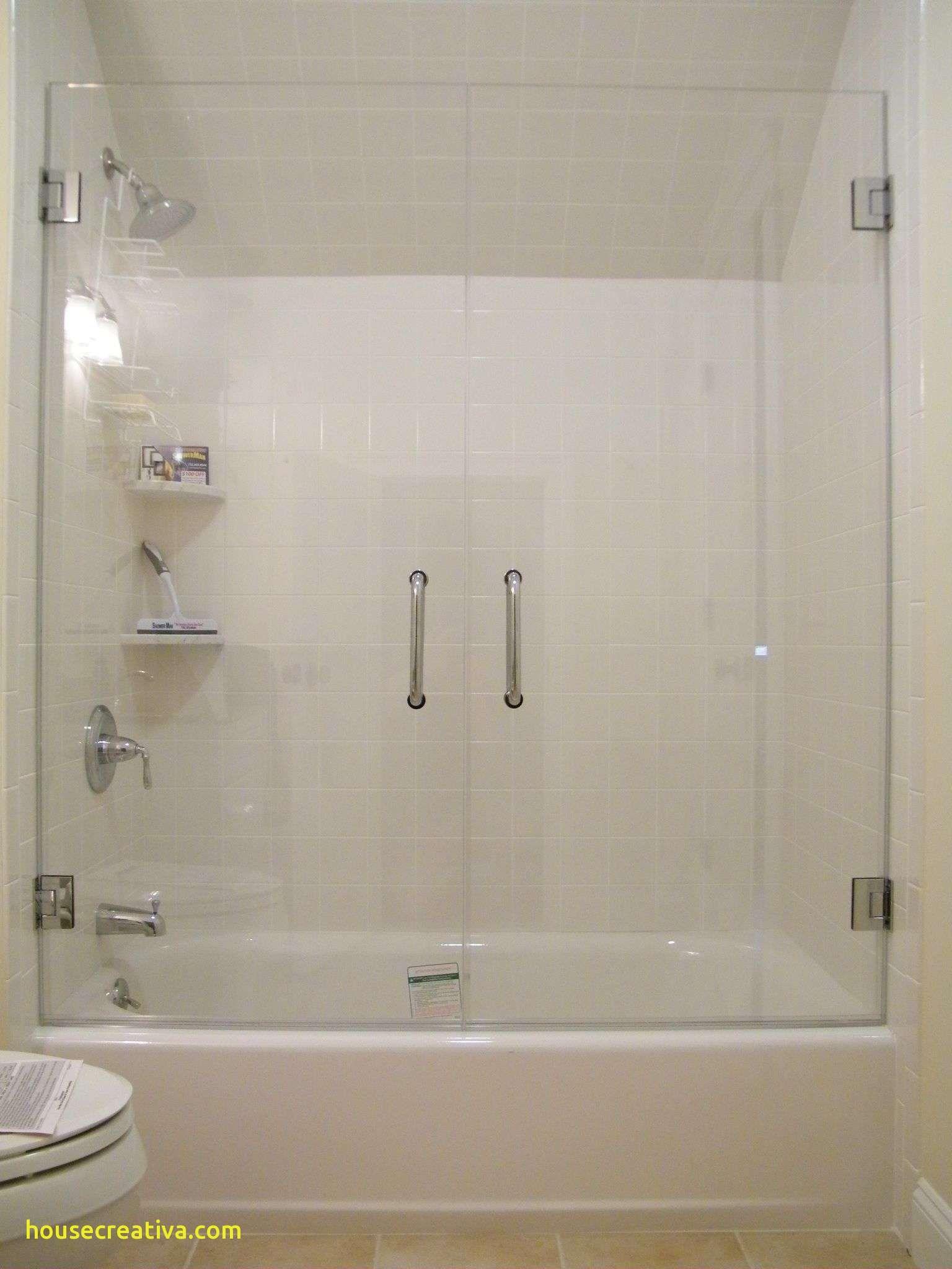 Beautiful Frameless Shower Door Over Tub Homedecoration